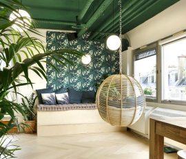mobilier de bureau professionnel décoration tropicale